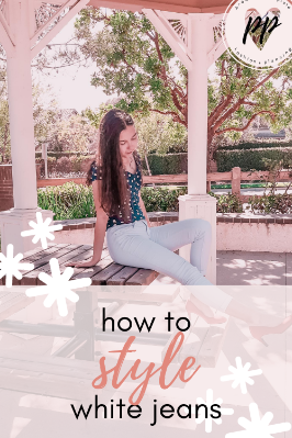 How to Style White Jeans All Year Round