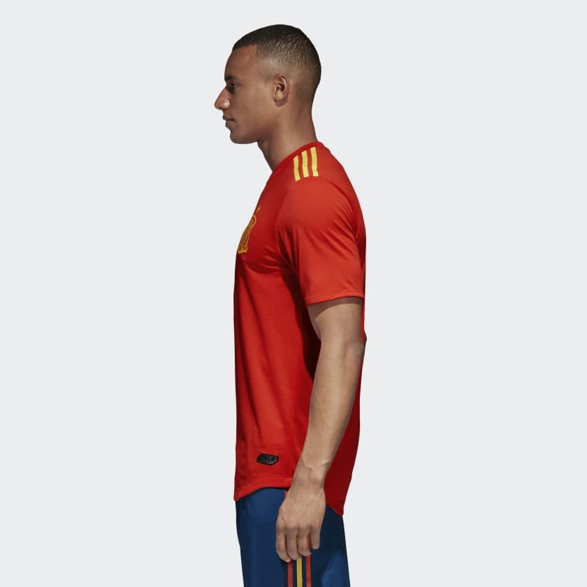 Kits Jersey Home Kandang Spanyol Piala Dunia 2018