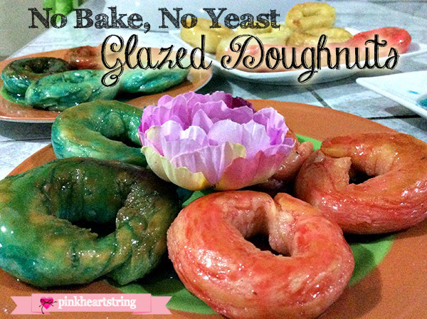 How to make no bake doughnuts
