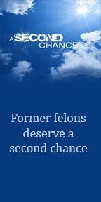 Former felons deserve a second chance