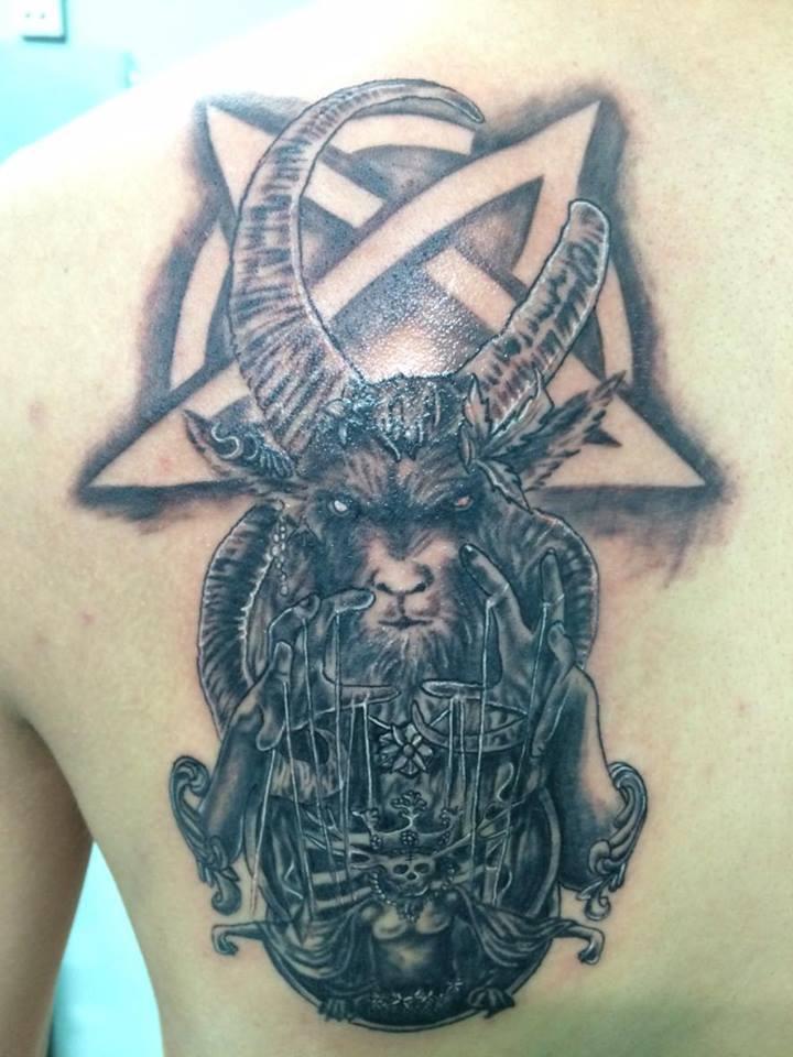 Hình xăm màu và trắng đen đẹp nhất của Tattoo