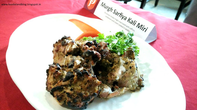 Murgh Sarfiya Kali Miri @ The Hot N Juicy Kebab Festival @ Paradise | Bangalore