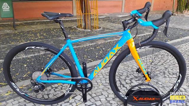 Bicicleta Audax Bike Pampero Gravel Alumínio