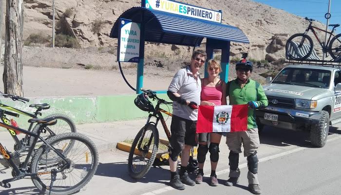 MOUNTAIN BIKE NEW ROUTES AREQUIPA