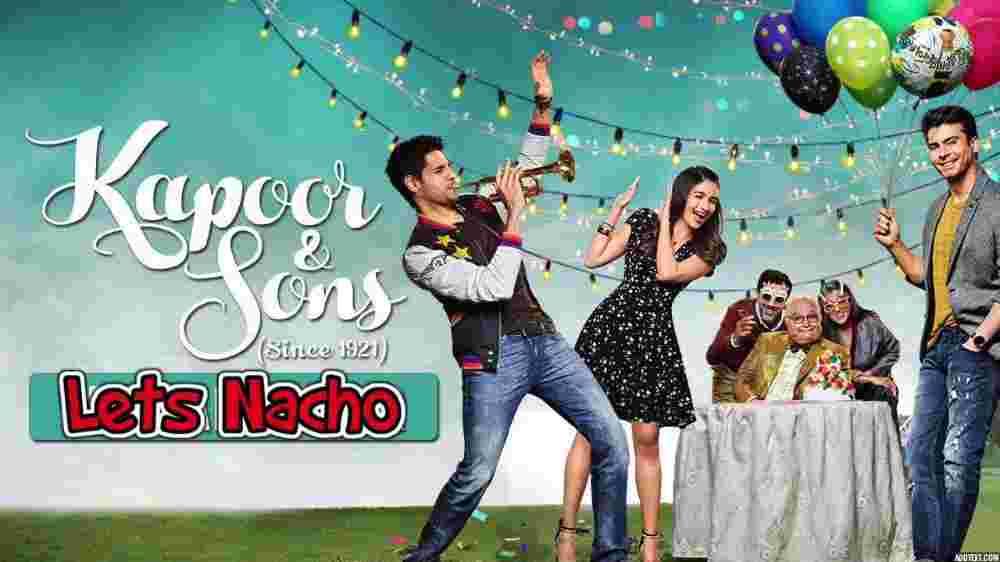 Lets Nacho Lyrics - Kapoor and Sons | Badshah