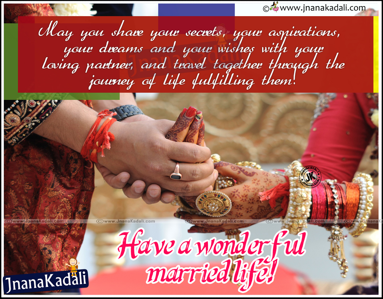 Luxury Happy Married Life Quotes In Telugu Best Life Quotes In Hd