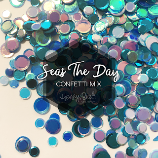 Seas the Say Confetti Mix