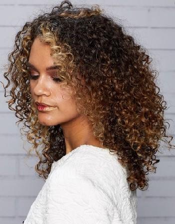 spiral curly