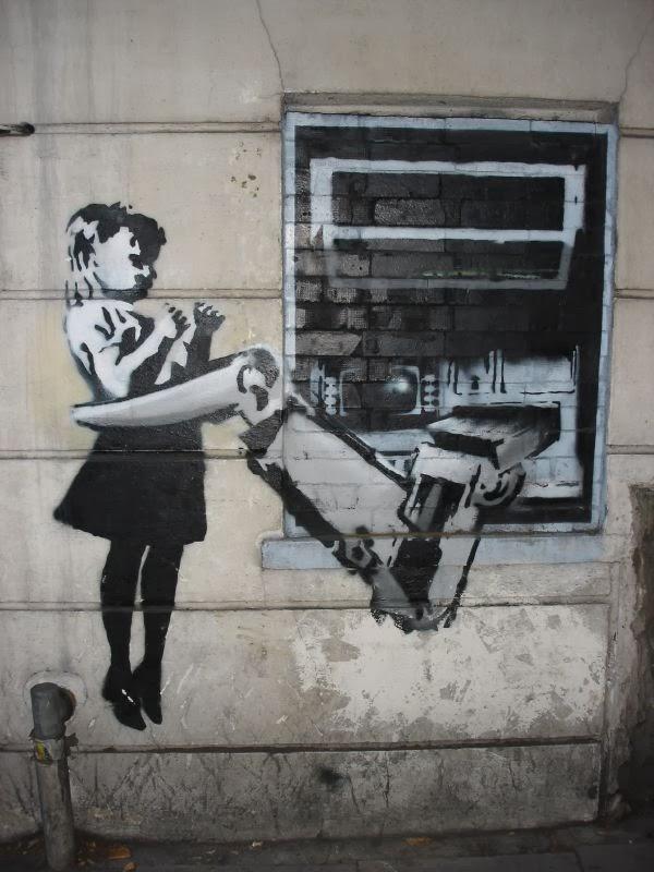 La Otra Mirilla Banksy Arte O Vandalismo