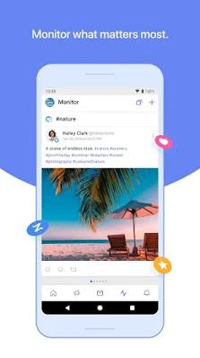 Screenshot Zoho Social - Apcoid
