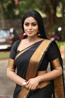 Poorna in Cute Backless Choli Saree Stunning Beauty at Avantika Movie platinum Disc Function ~  Exclusive 086.JPG
