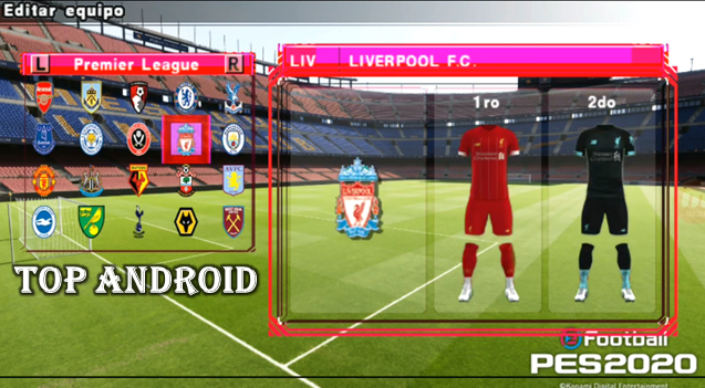 Download PES 2020 LITE ANDROID Camera PS4 Offline 400MB