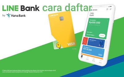 Cara Daftar LINE Bank online : Syarat dan Setoran Awal