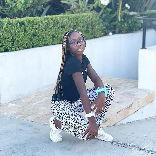 I am so honored to be your mother- Actress Dakore Egbuson celebrates her daughter 10th birthday (Photos)