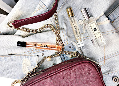 Perfumy do torebki, miniaturki perfum - te zapachy noszę przy sobie najczęściej.