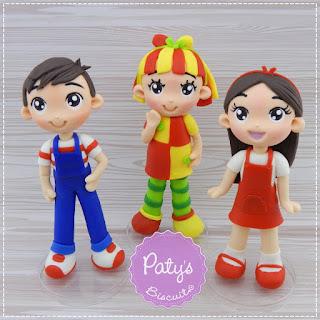 Miniaturas / Enfeites de Mesa Sítio do Pica-Pau Amarelo - Festa infantil - Paty's Biscuit
