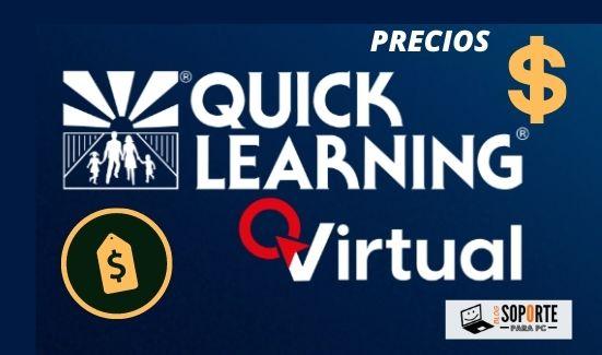 Quick learning precio modalidad online / virtual