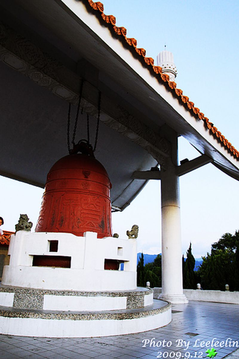 全國最大的銅鐘在三峽鳶山公園|鳶山鐘|鳶山光復銅鐘