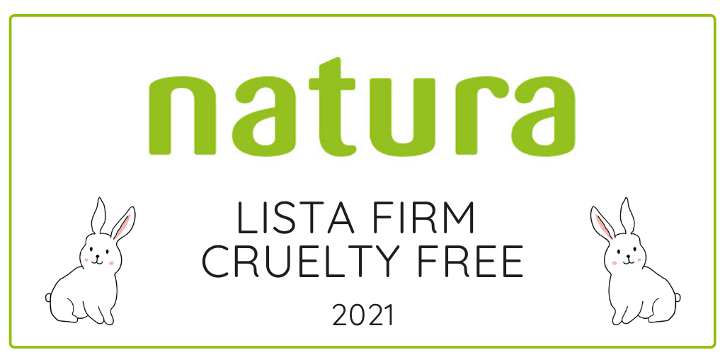 DROGERIE NATURA - LISTA FIRM CRUELTY FREE 2021