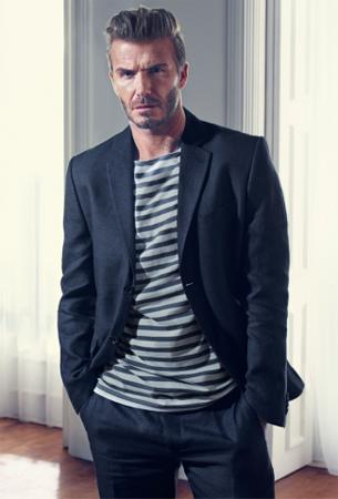 moda masculina colección David Beckham modernos esenciales H&M