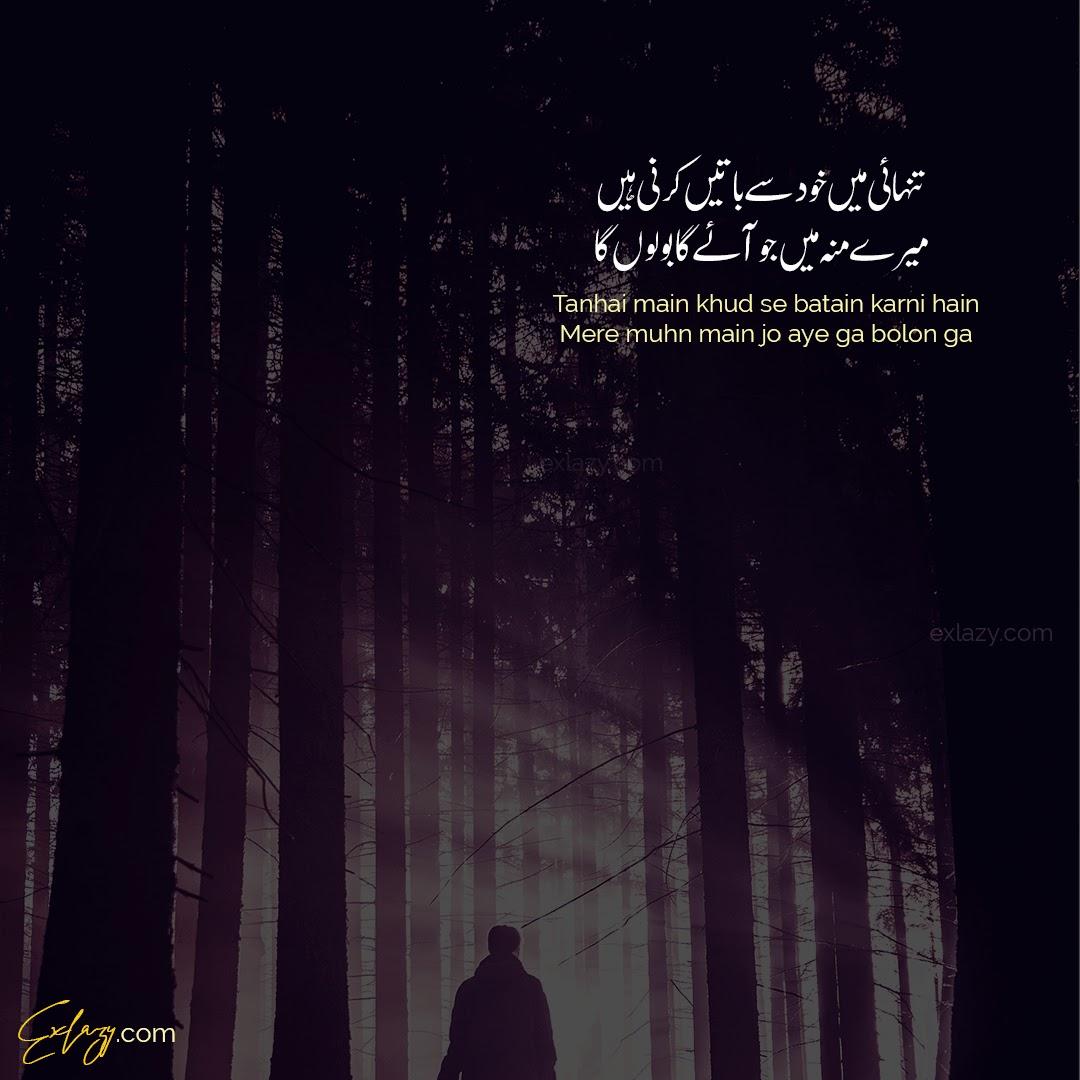 tehzeeb hafi poetry in urdu images