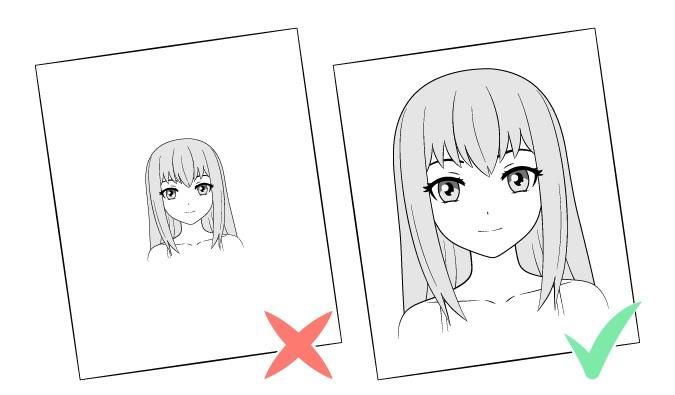Mengubah ukuran gambar ke area gambar