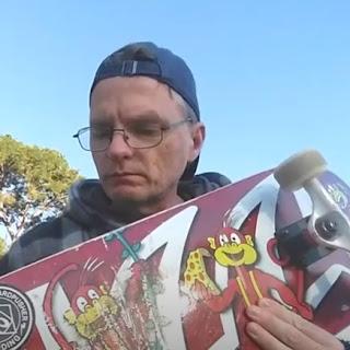 TET with Monkey Pizza Lifeline Skateboard.