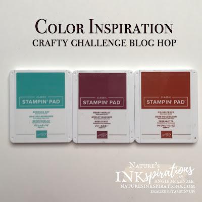 Crafty Challenge Blog Hop Color Challenge