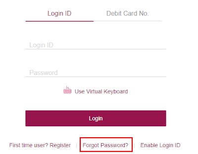 how to generate net banking password in axis bank