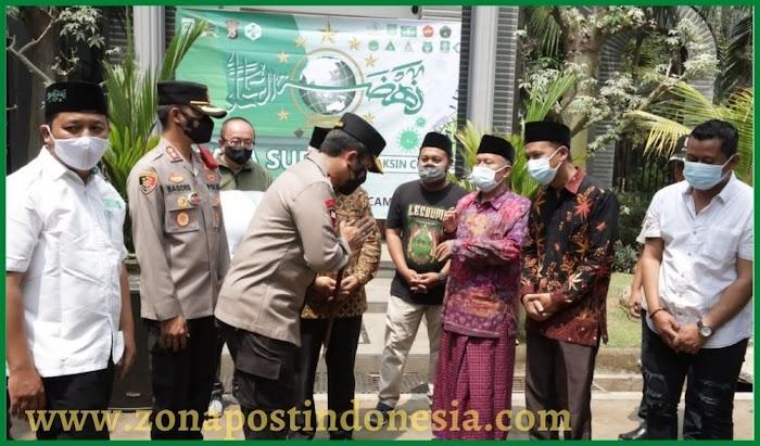 Kapolda Jatim Cek Pelaksanaan Vaksinasi di NUIS Pakis, Kabupaten Malang