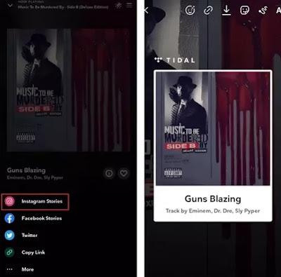 Cara Berbagi Lagu ke Cerita Instagram dari Spotify, Apple Music, dan Lainnya-6