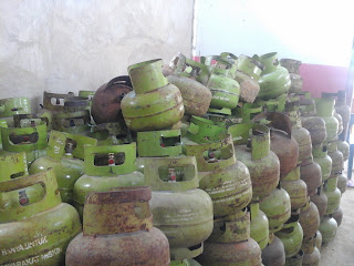 KECAMATAN SEBATIK BARAT KRISIS GAS LPG 3 KILOGRAM