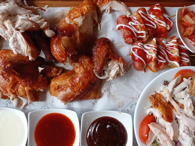 Hanya RM39.80 Hidangan Lengkap Seekor Ayam di Restoran The Fire