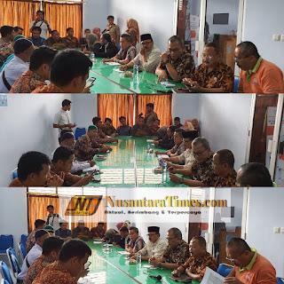Dinas Sosial Kabupaten Batanghari Gelar Rapat Evaluasi BPNT