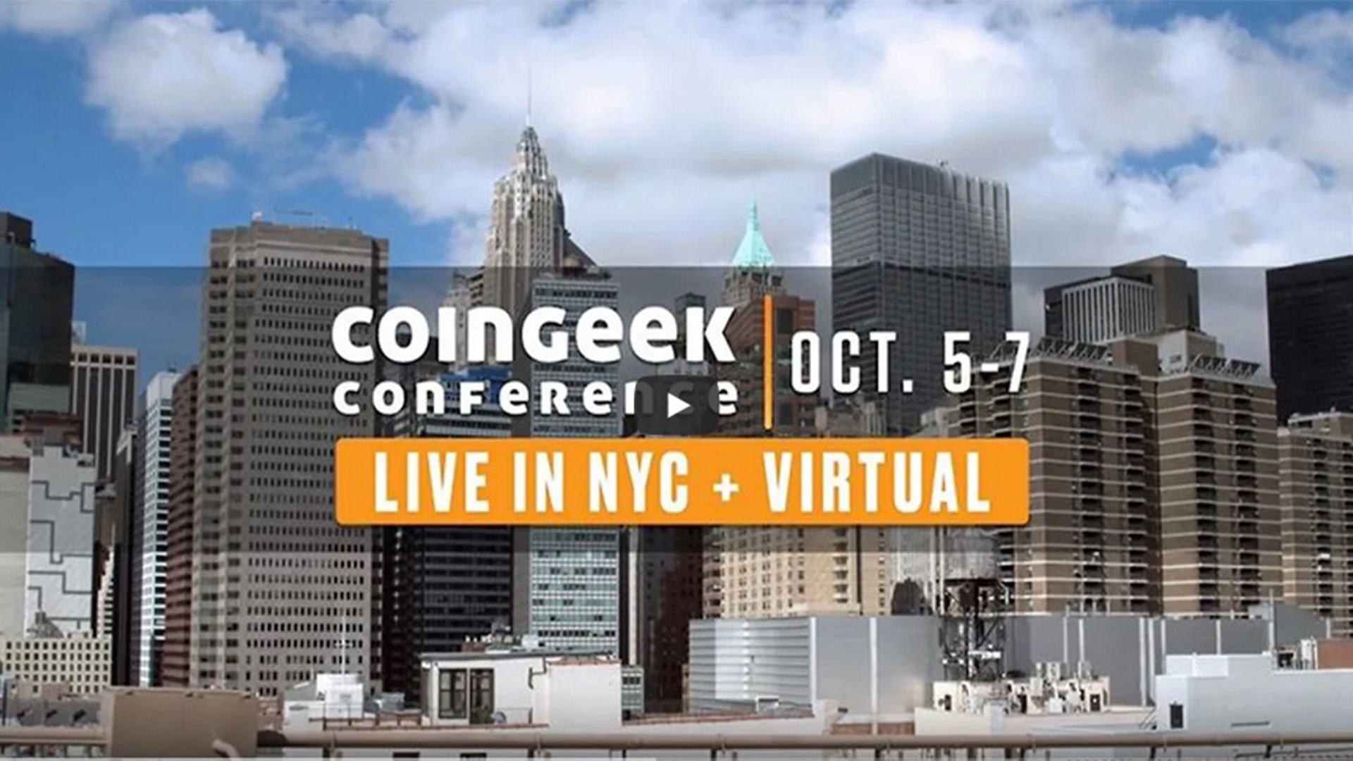 CoinGeek New York will take place at The Sheraton, Times Square (October 5-7)