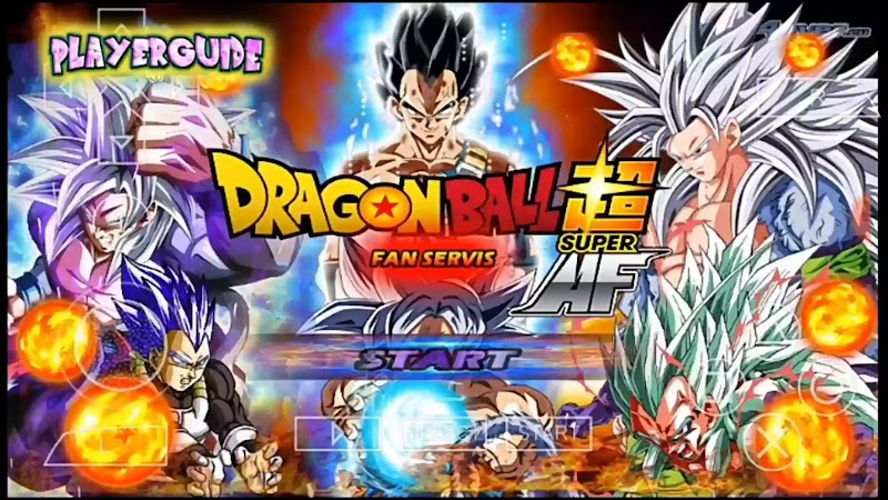 Dragon Ball Z Tenkaichi Tag team mod for Android PSP ISO Af Ssj5 Download