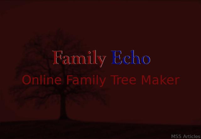 Family Echo Online Family Tree Maker | Review