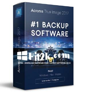 Acronis True Image 2017 Crack +Activation Key Download