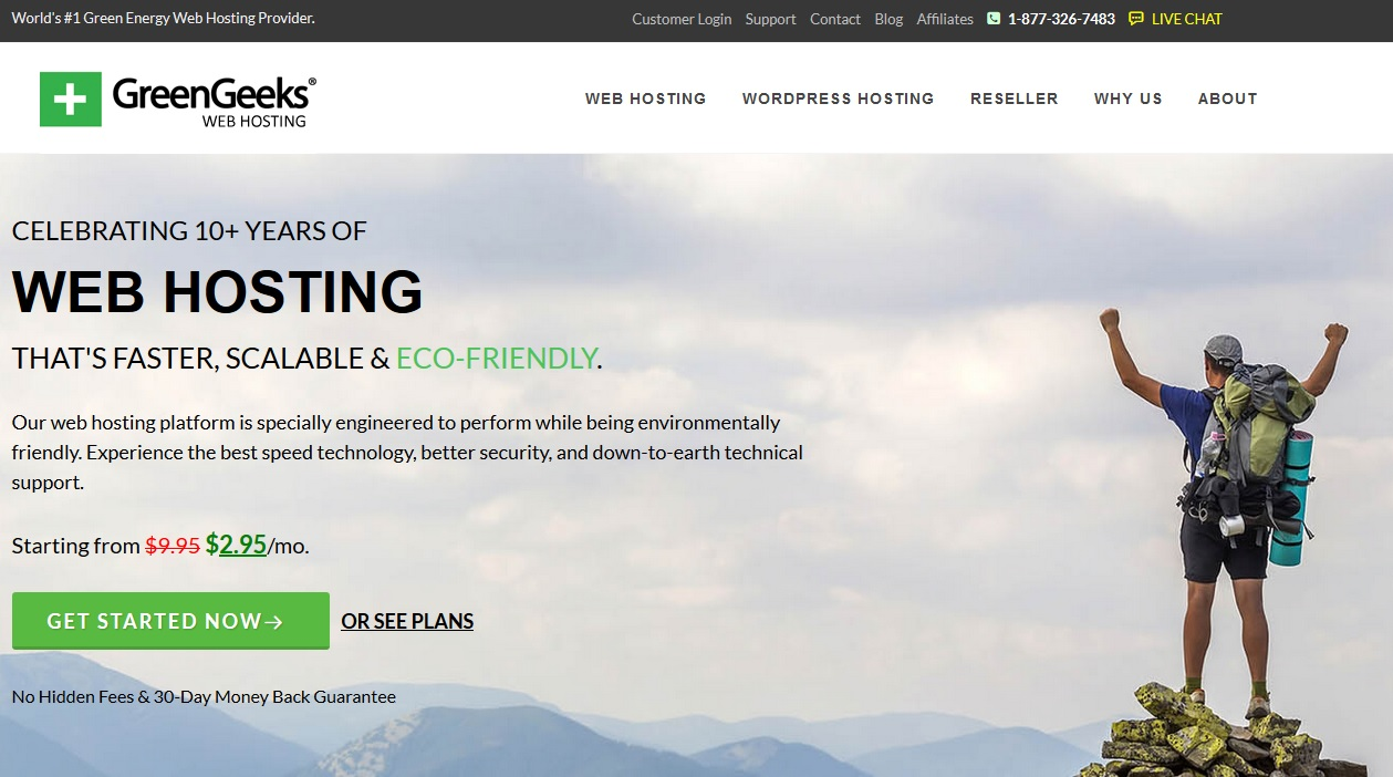 GreenGeeks: World's #1 Green Energy Web Hosting Provider