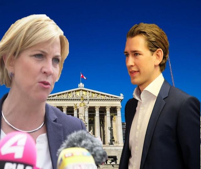 النمسا: رئيسة حزب النيوز تحدد شروط التحالف مع كورتس