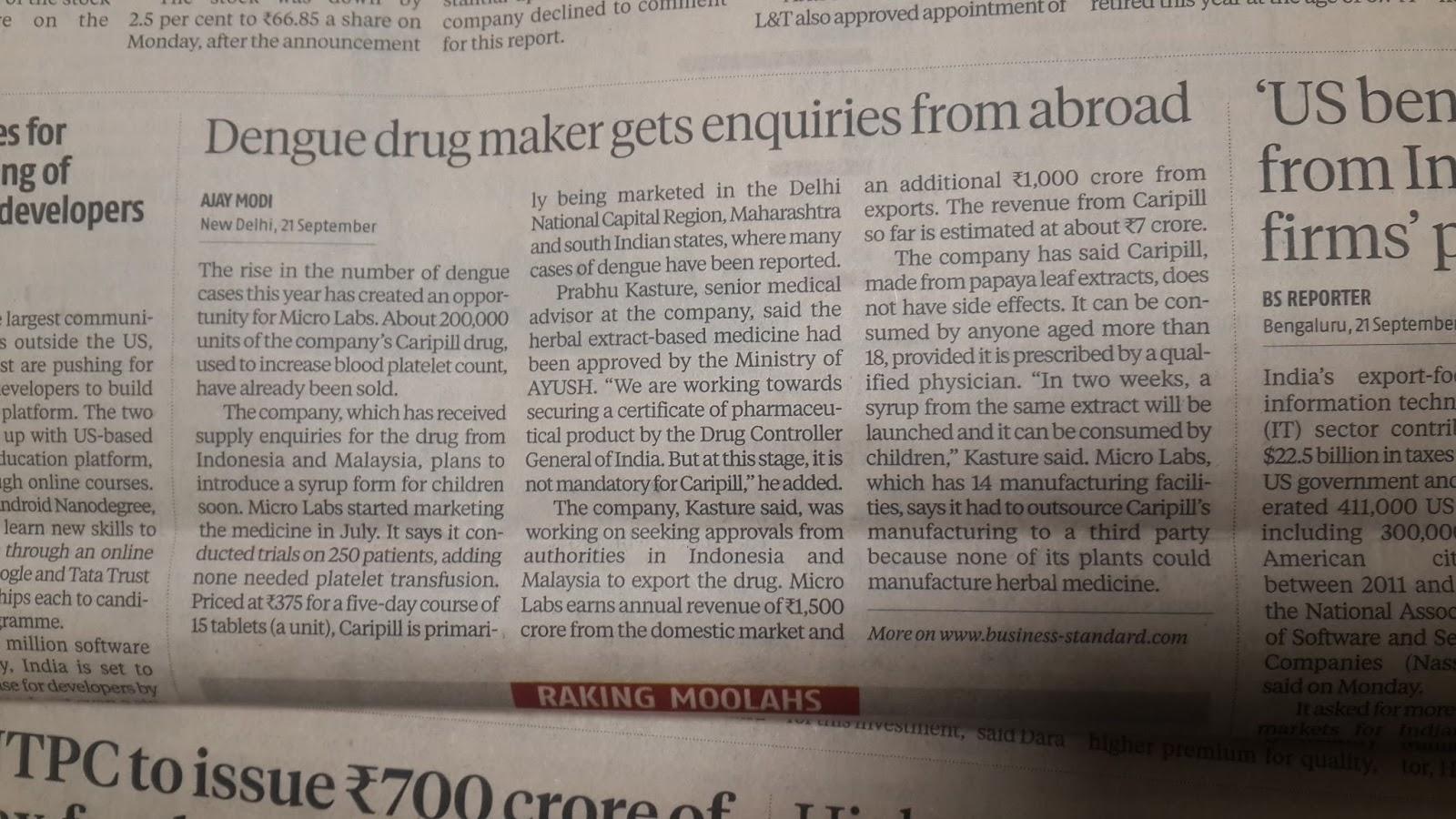 PHARMACEUTICALS AND HEALTHCARE: Indian pharma entrepreneurs always