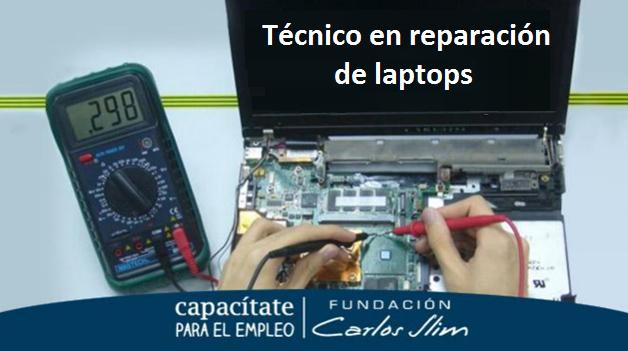 Curso de Capacitación de Técnico en reparación de laptops - Certificado Gratis 2018