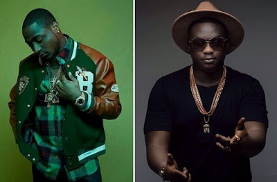 """Davido Records With Wande Coal Says """"December Is In Trouble"""""""