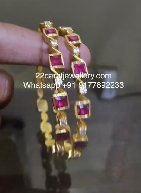 Simple Bangles in 925silver