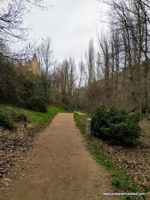 senda fluvial en Segovia, senderismo