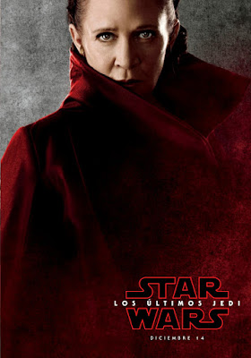 Star Wars: The Last Jedi International Teaser Character Movie Poster Set