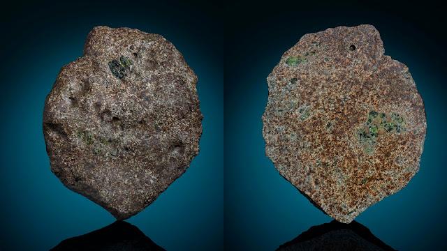 meteorito Erg Chech 002 - o meteorito mais antigo do Sistema Solar