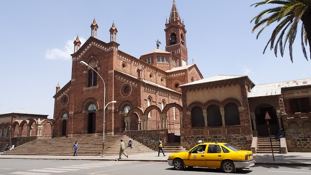 In the middle of Asmara