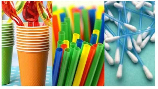 Τέλος από σήμερα σε 10 είδη πλαστικών μιας χρήσης