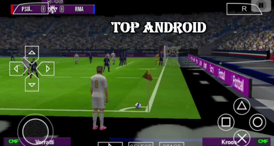 Download PES 20 PPSSPP Camera PS4 600MB English Version Offline